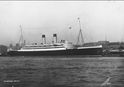 SS Empress of Britain in 1905