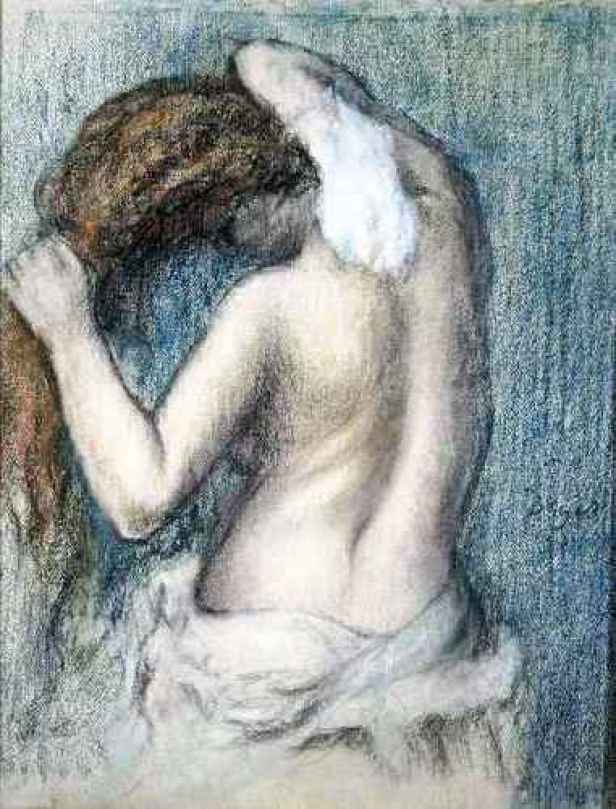 Edgar Degas - Woman Washing, c. 1906