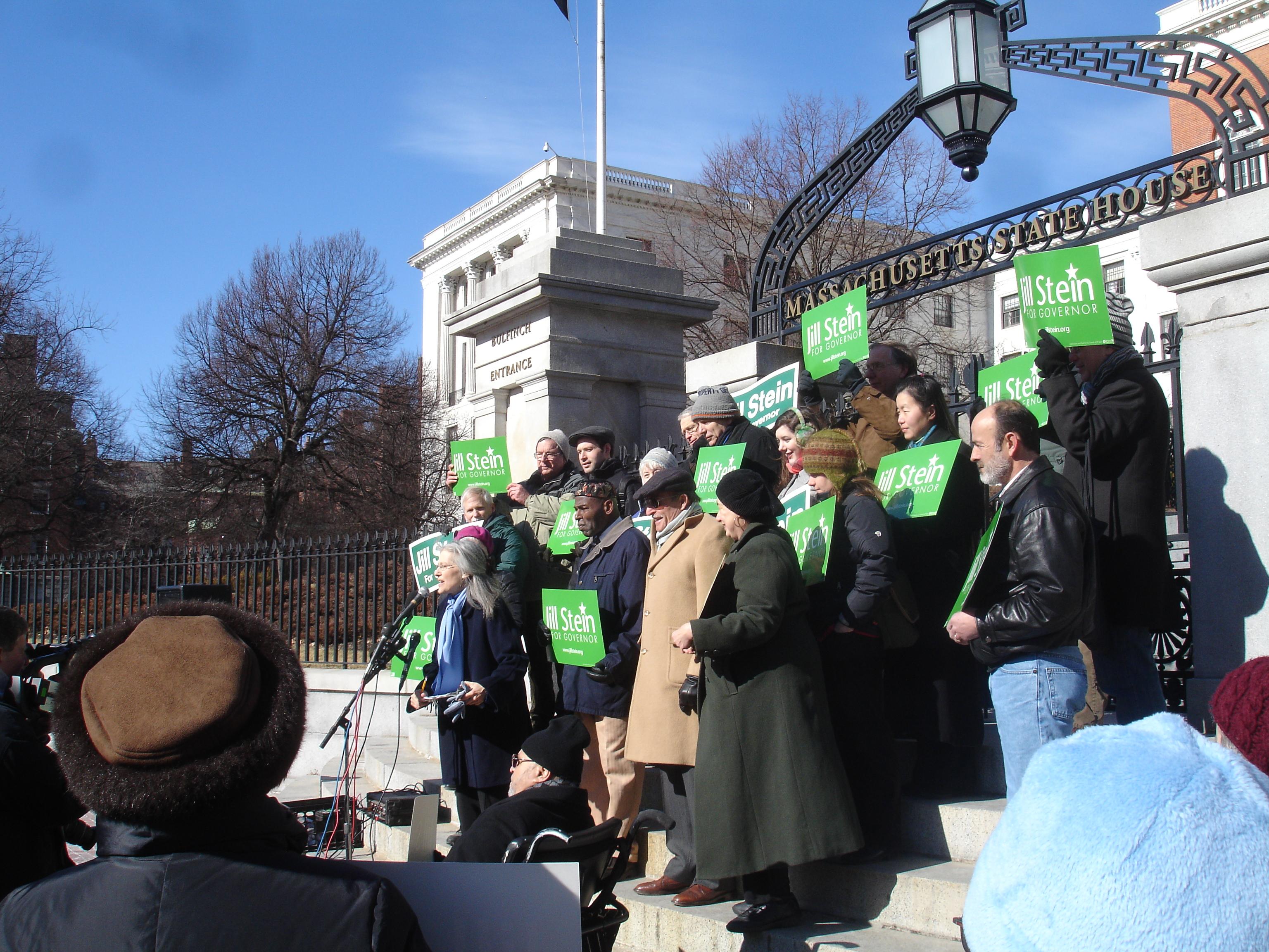 English: Photo of Jill Stein, Green-Rainbow Pa...