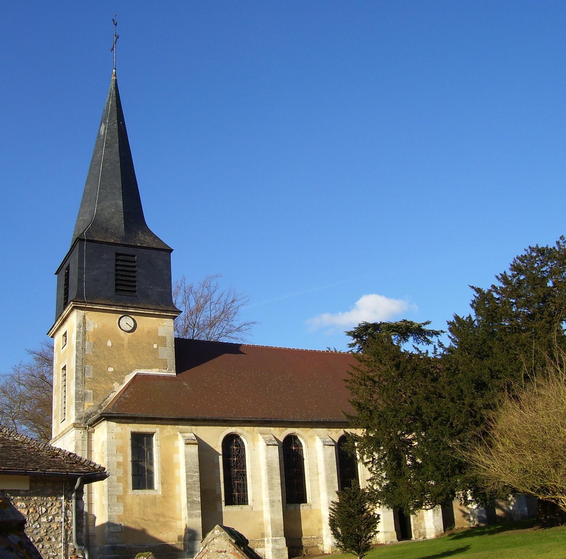 Kirche Saint-André, eigenes Foto, Lizenz:CC by