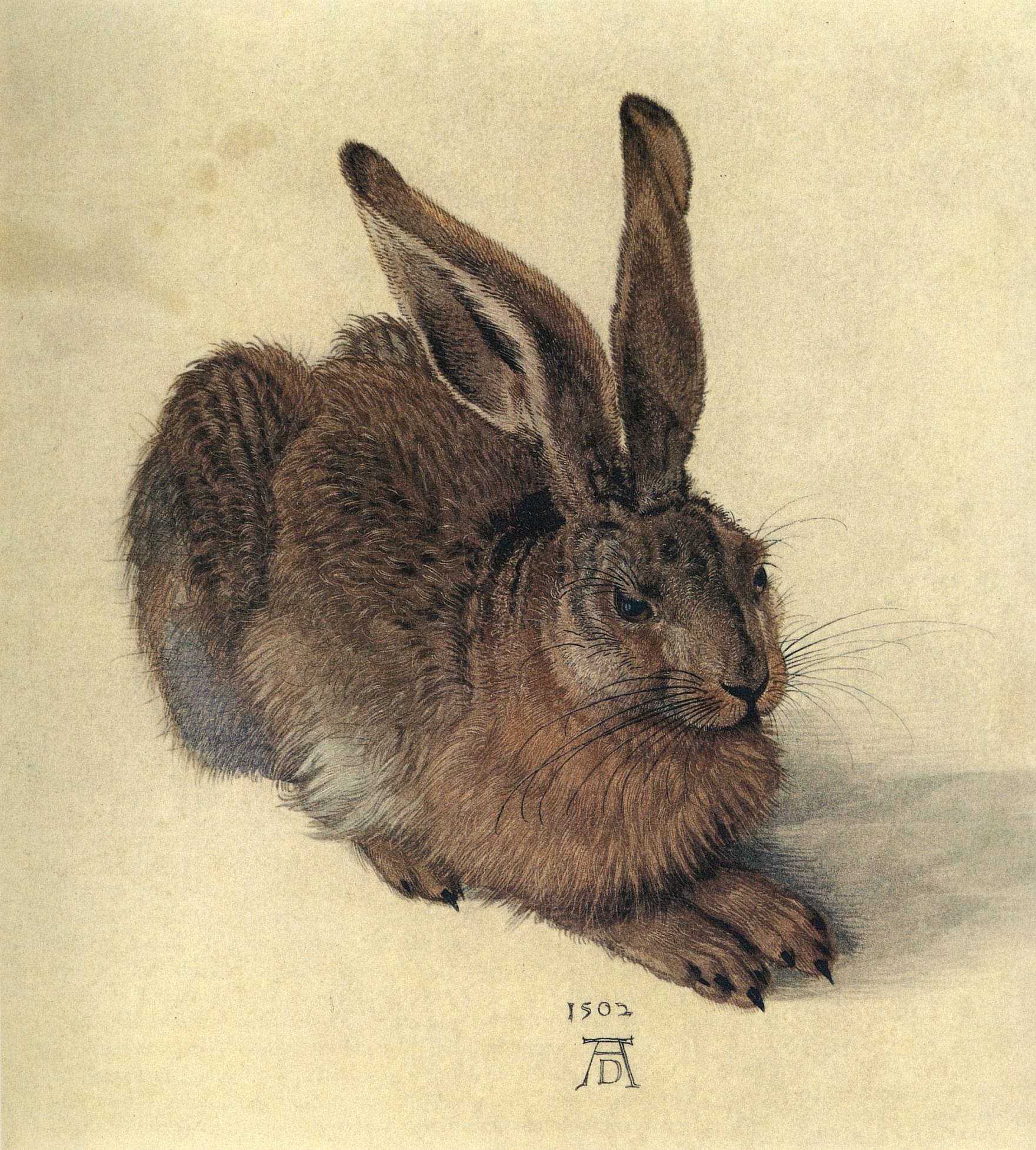Hare is an easter symbol.