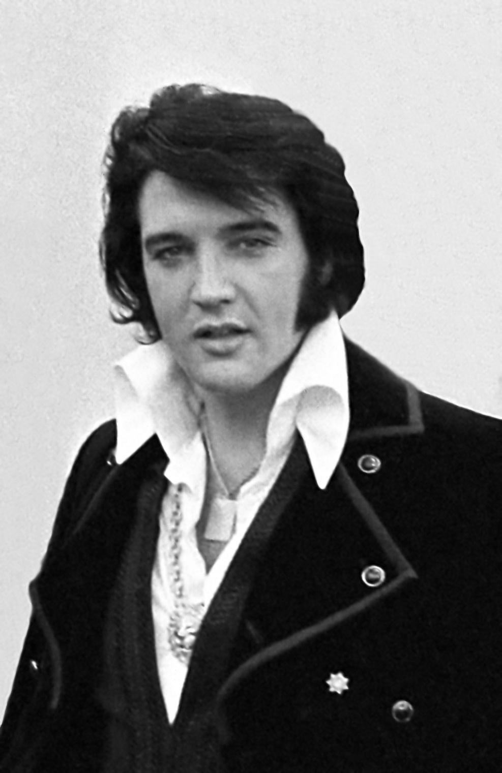 Elvis Presley 1970 1960s Mens Fashion