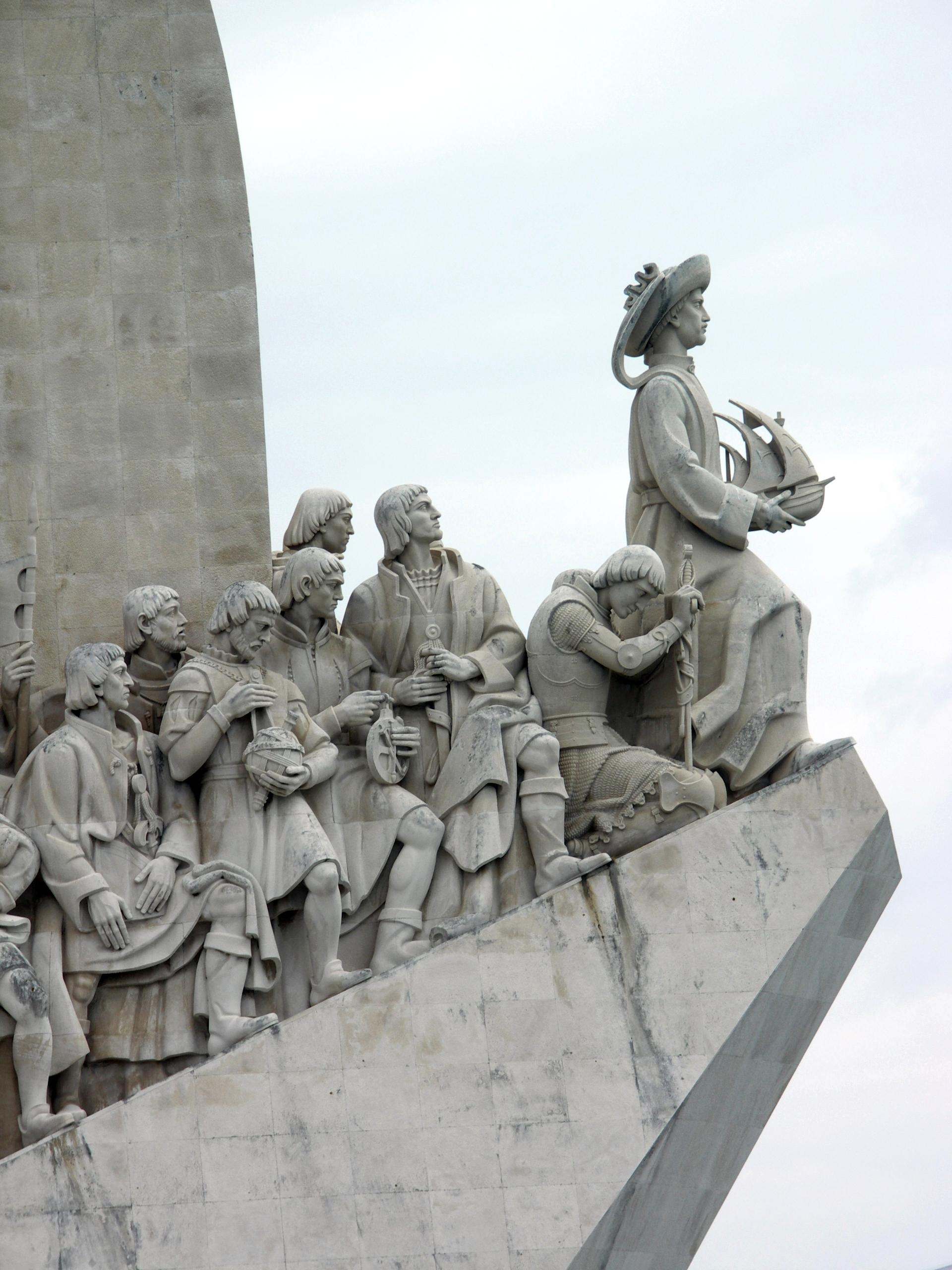 Monumento de los Descubrimientos en Lisboa