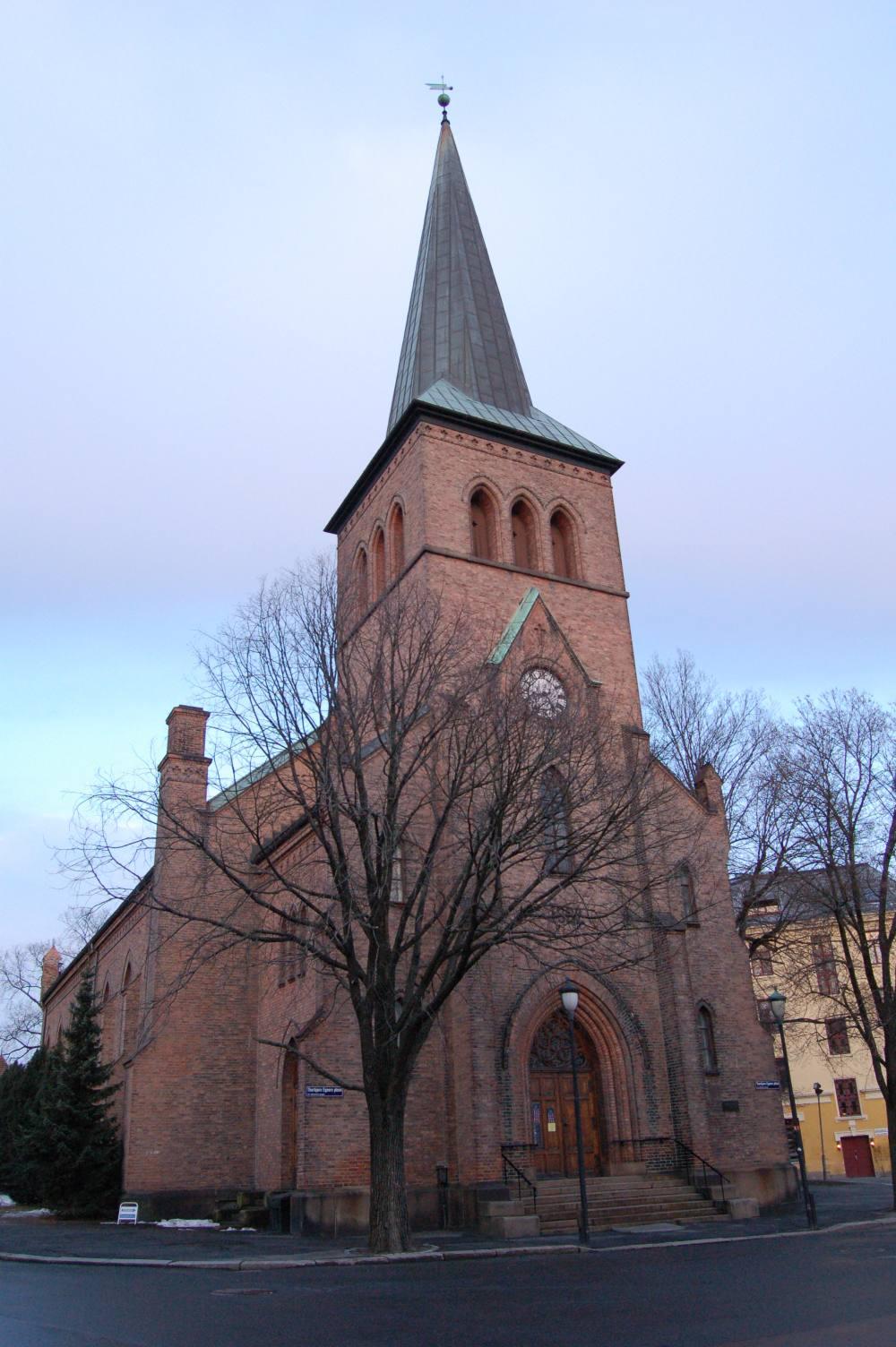 Kampen Kirke Oslo Wikipedia