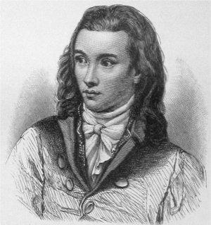 Romantic poet Novalis (1772-1801)
