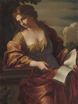 Follower of Pietro da Cortona - The Samian Sibyl