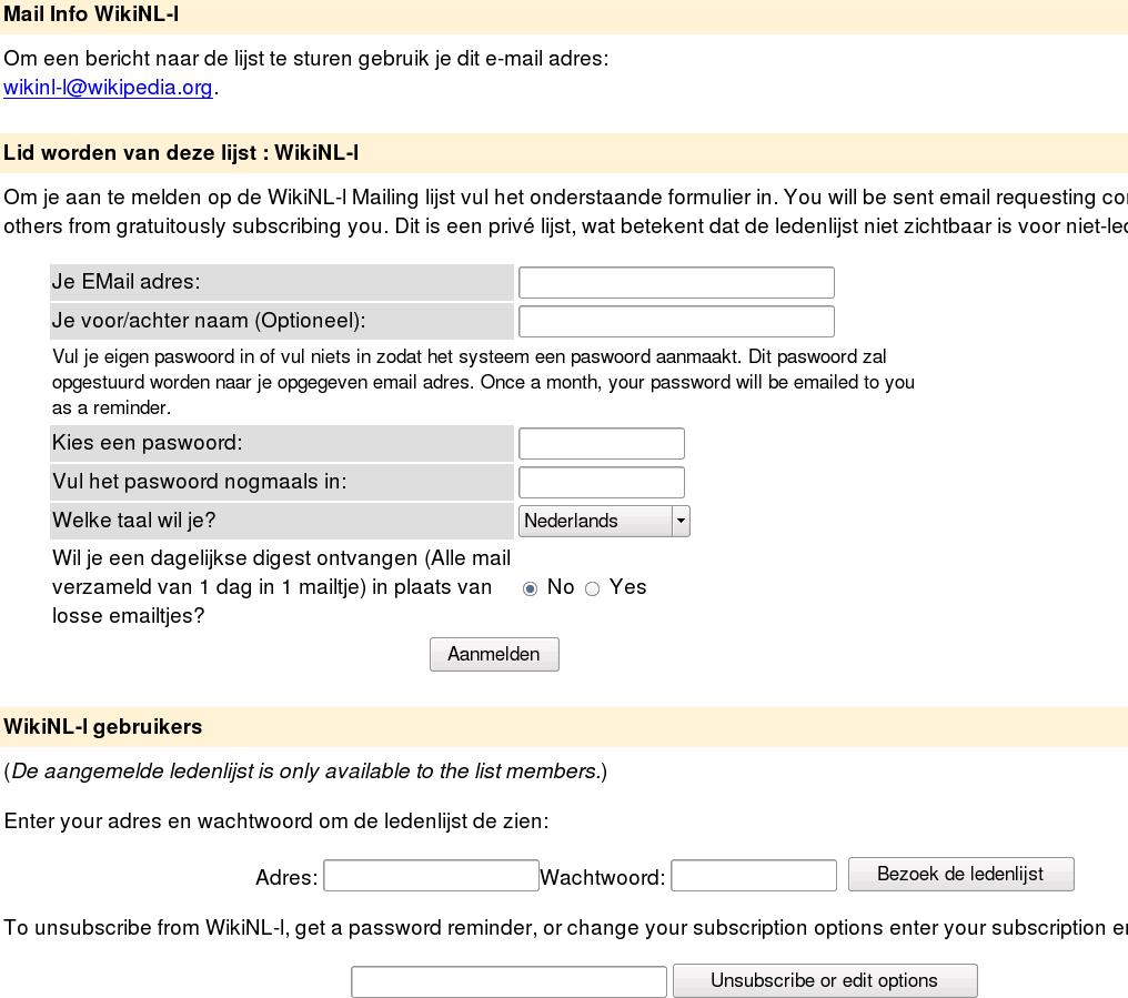 GNU Mailman Wikipdia