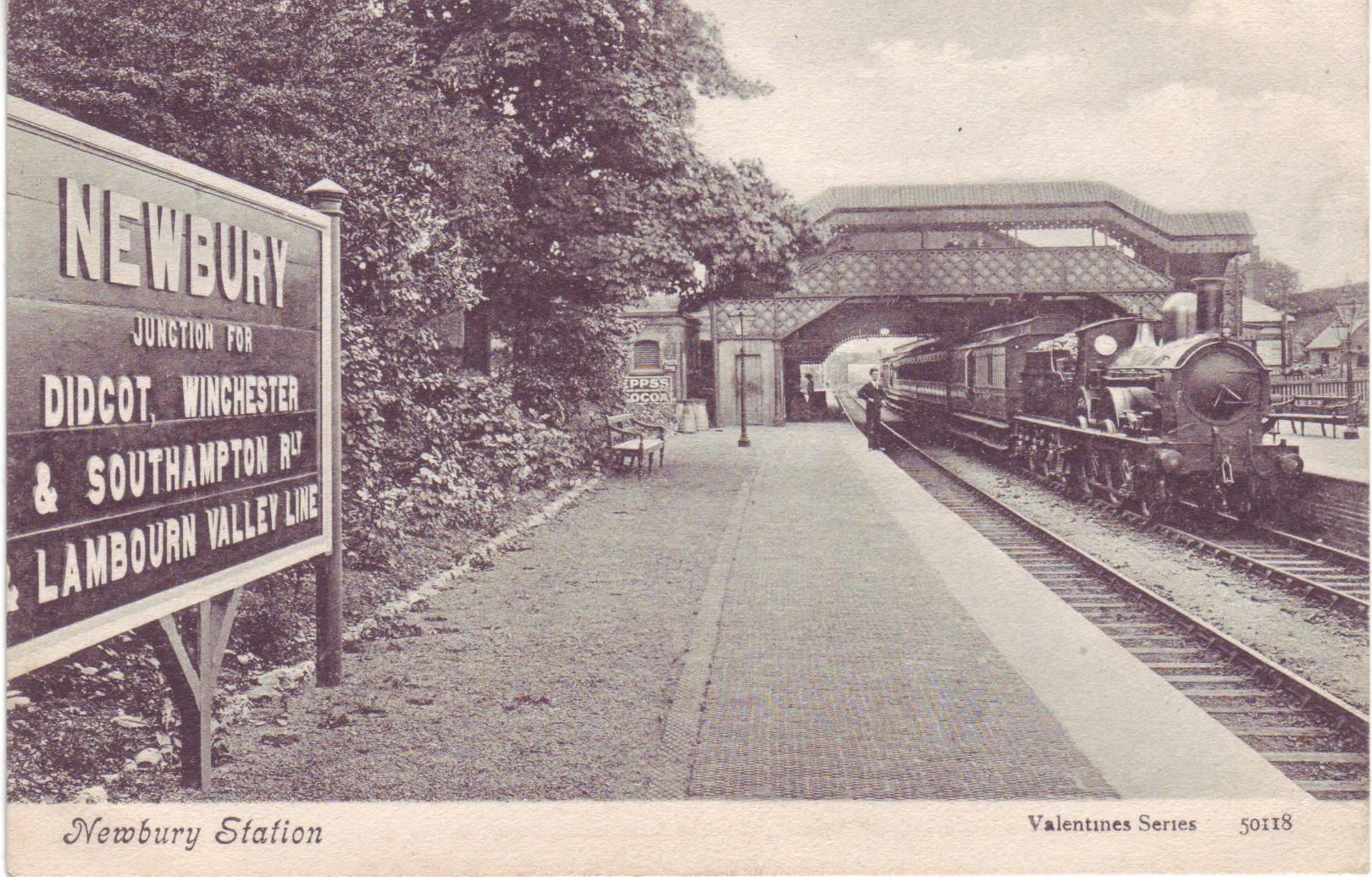 Valentines Train Station Enam Valentine