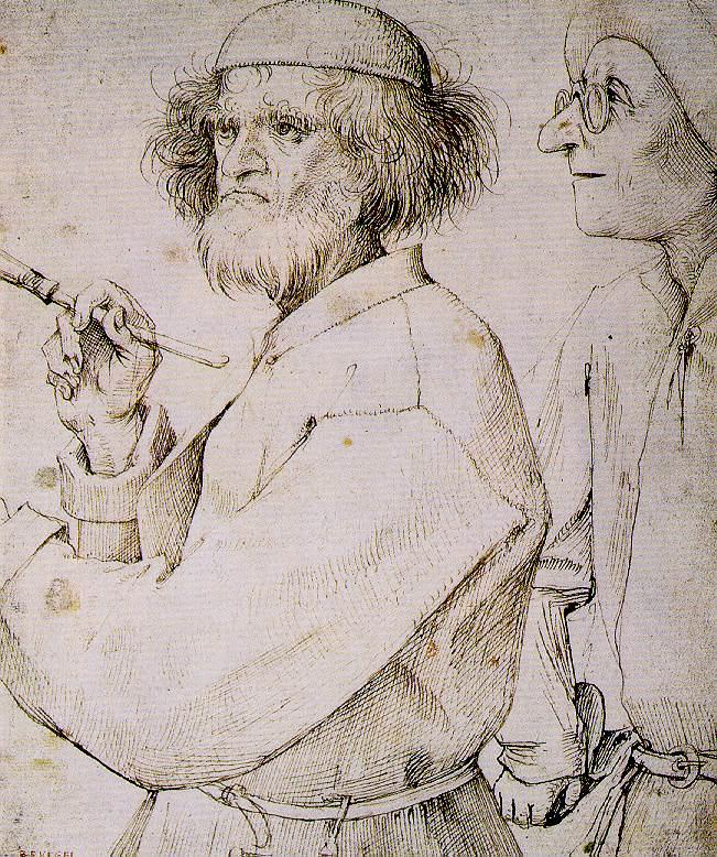 Pieter Bruegel the Elder (1526/1530-1569).The Painter and the Buyer (сirca 1565).