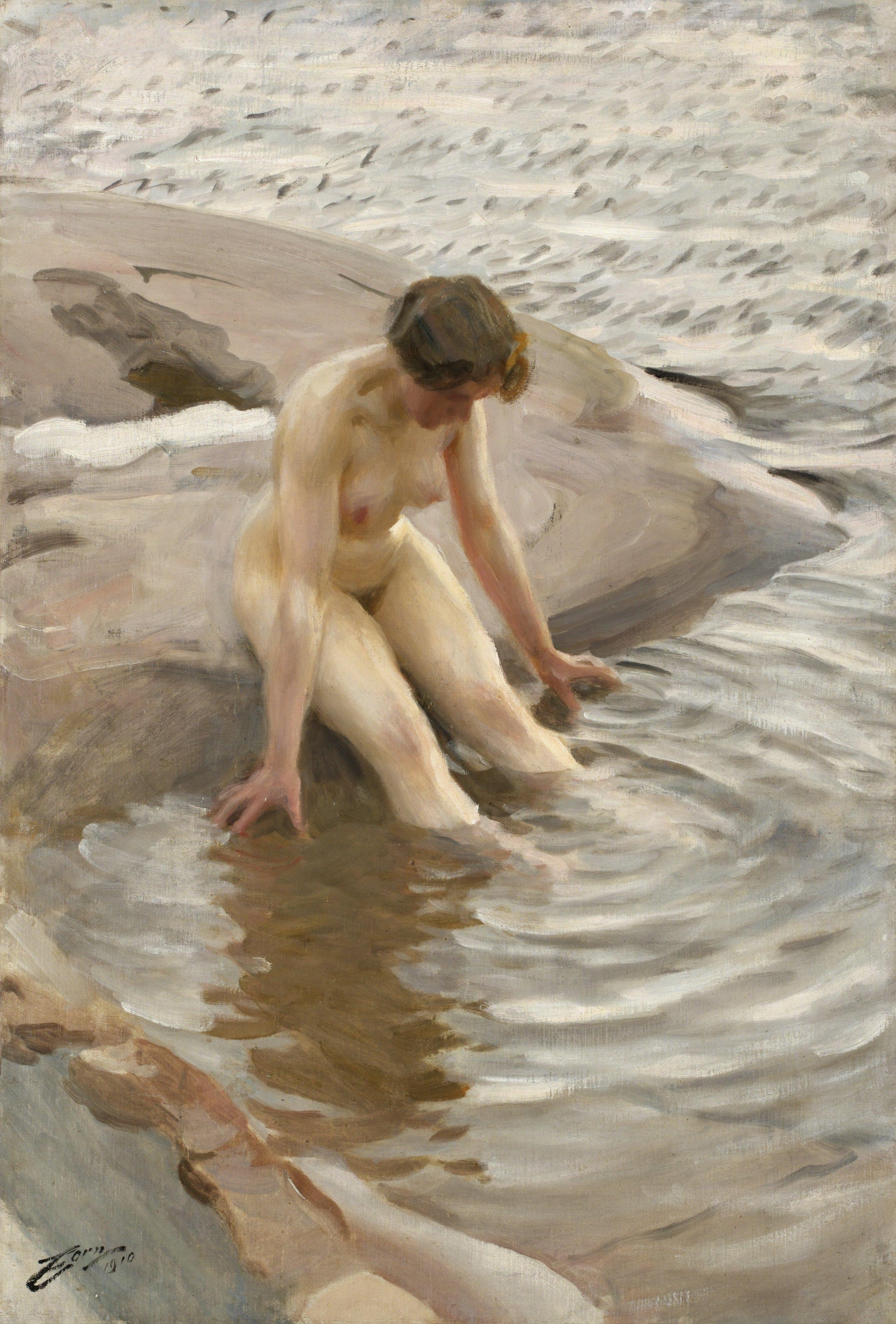 Anders Zorn, Vått (1910)