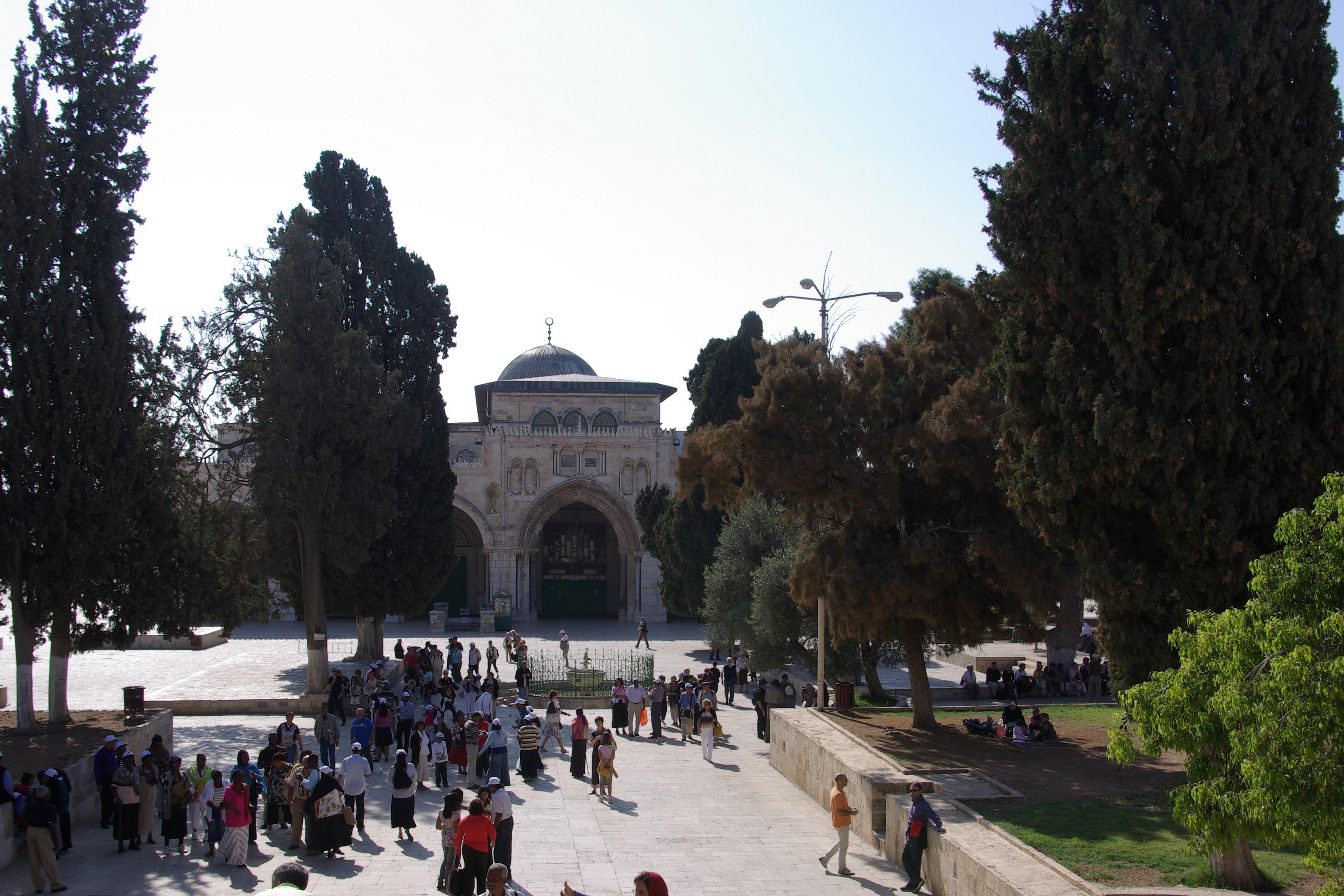 English: Jerusalem, Al-Aqsa Mosque Deutsch: Je...