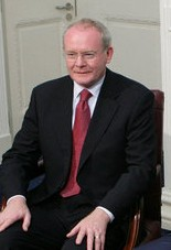 Northern Ireland Deputy First Minister Martin ...