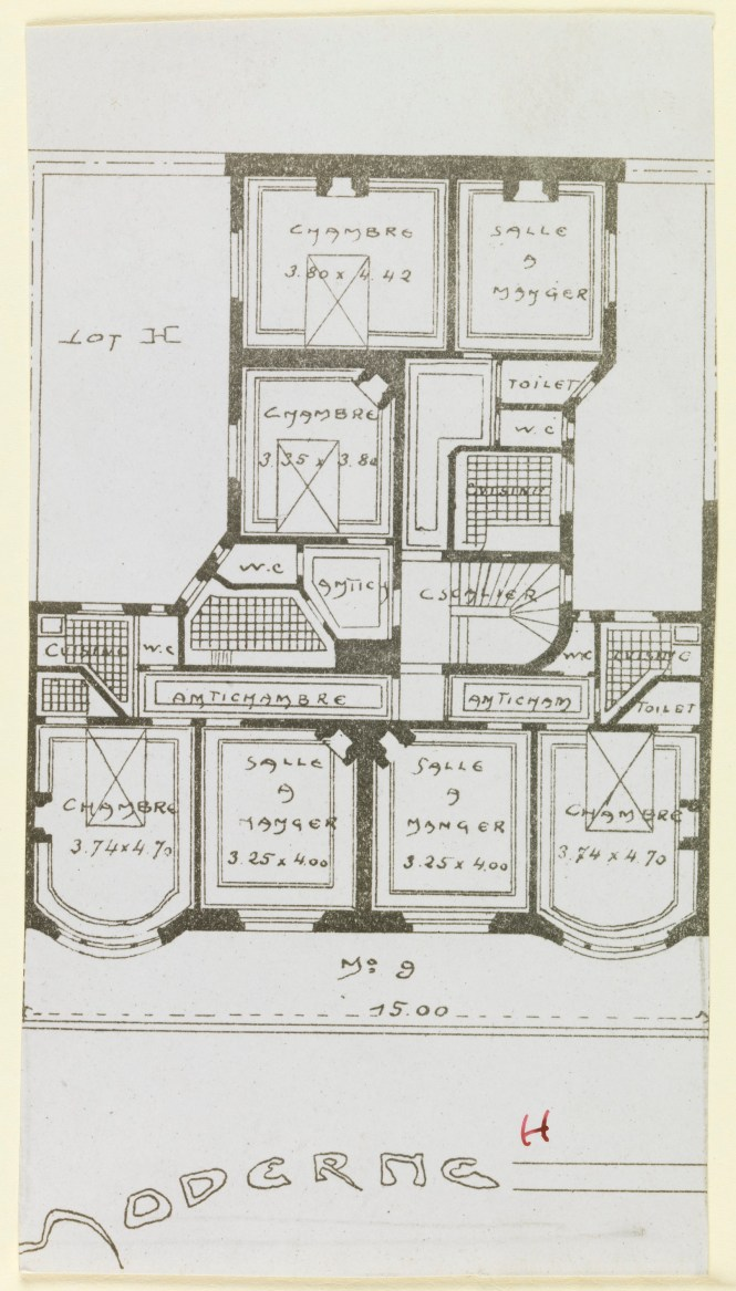 File Photograph Floor Plan For An