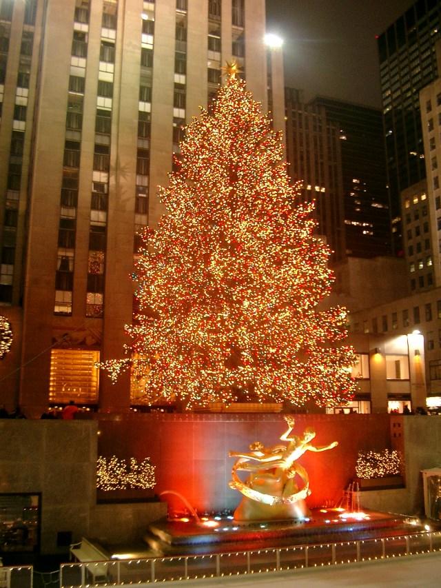 NYC xtmas tree