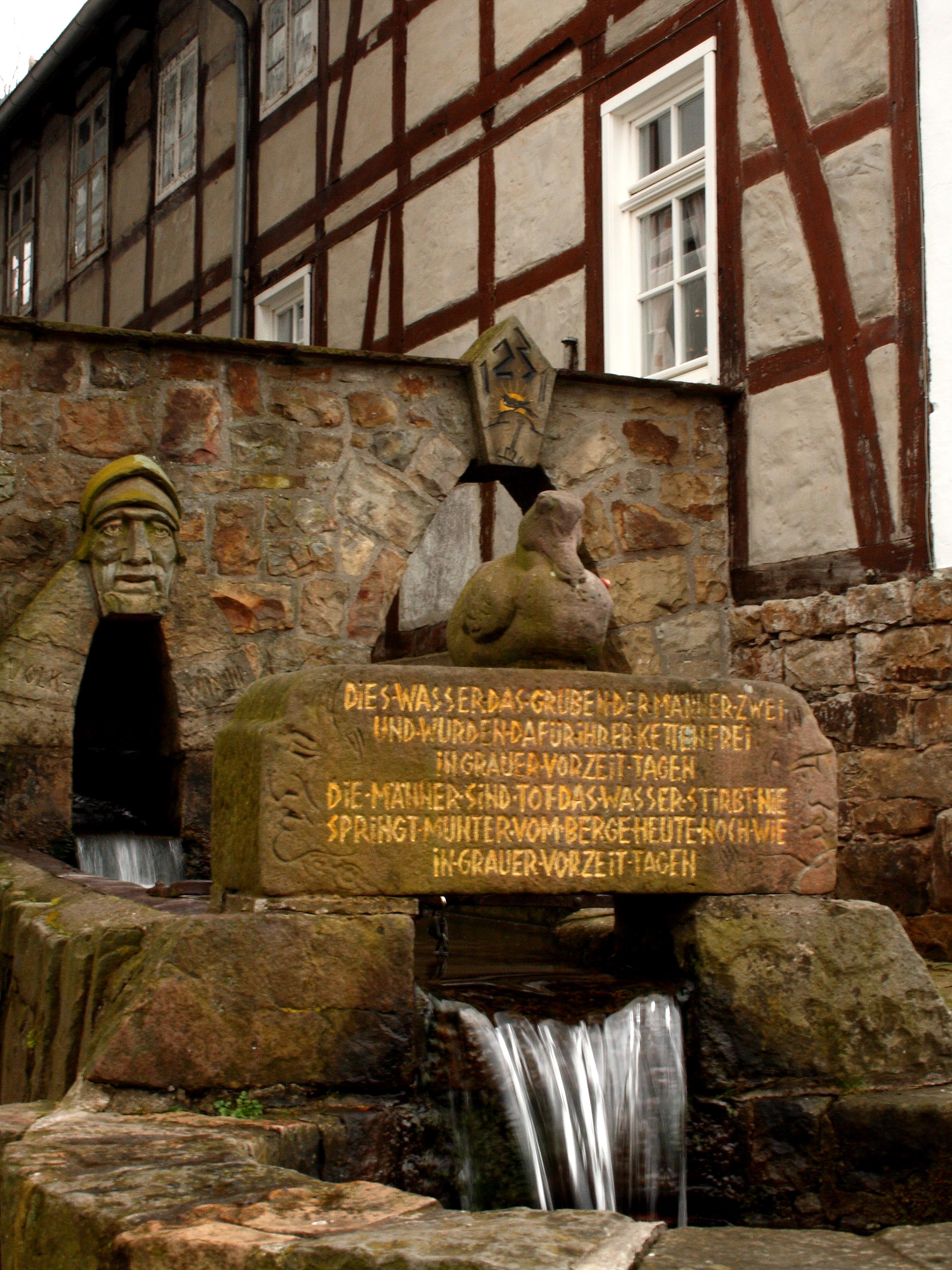 Brunnen Schwalenberg