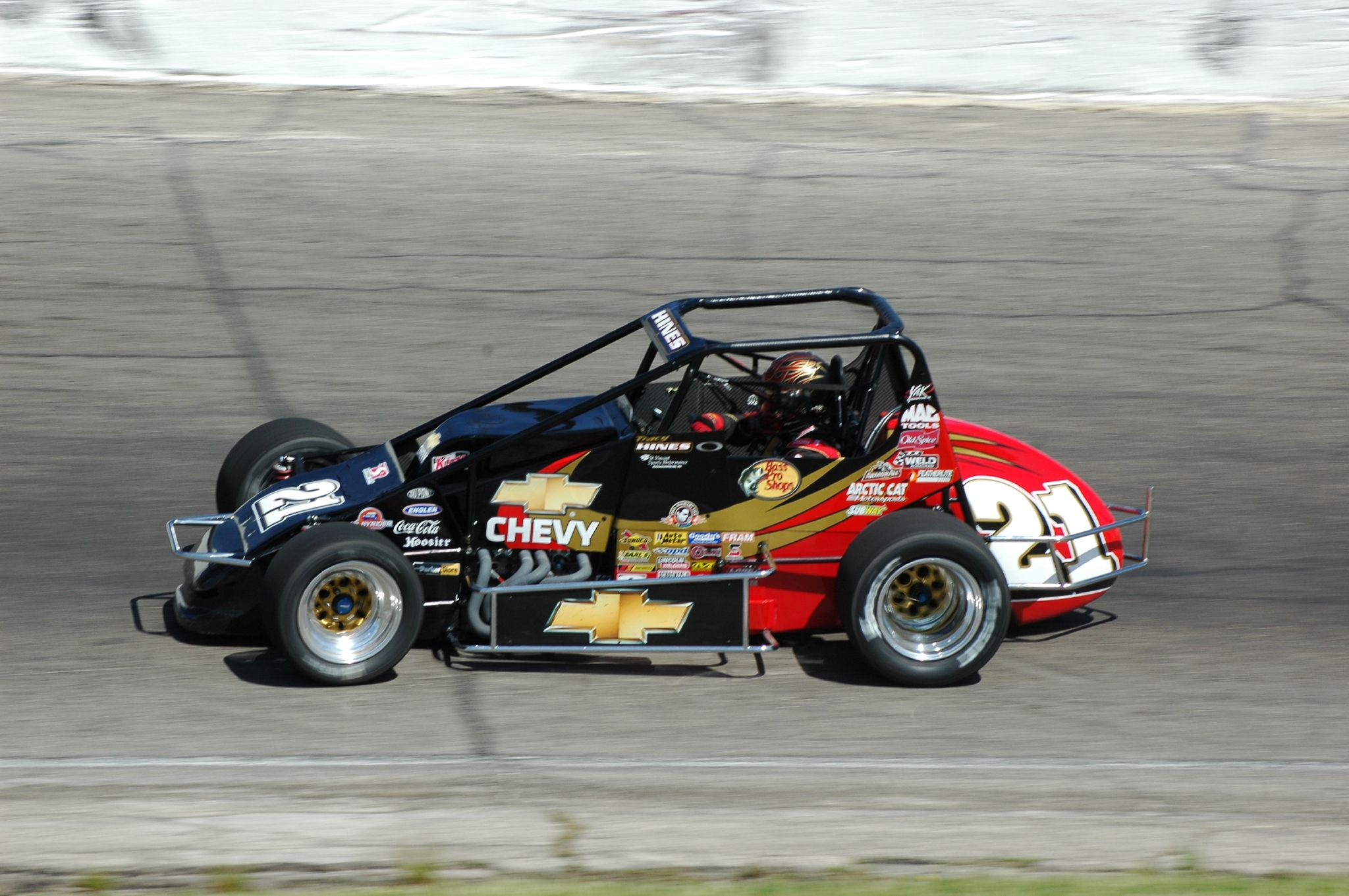 Pavement sprint car