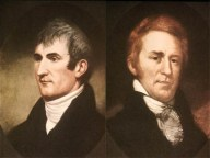 The Lewis and Clark Expedition sights the Grea...