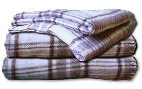 English: Picture of Pure wool blankets