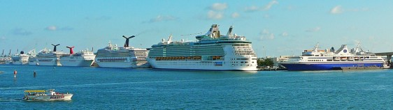 The Port of Miami is the world's largest cruis...