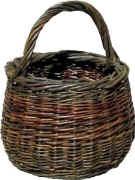 Round basket mandelette