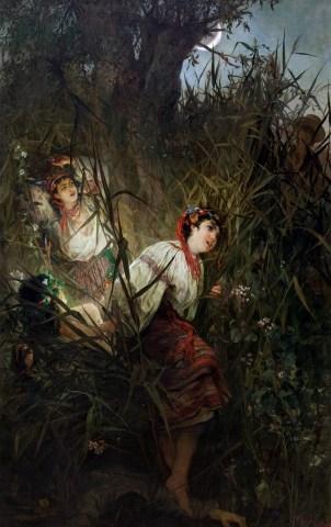 hadas - Las Hadas en la Mitología Eslava Witold_Pruszkowski-Rusalki