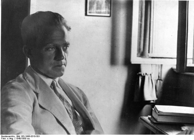 Werner Heisenberg en 1940.