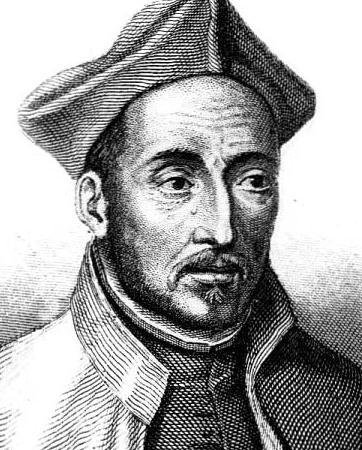 Kupferstich von Ignatius von Loyola