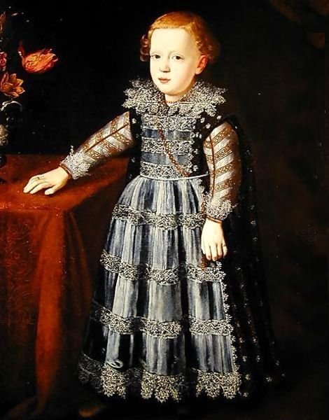 Portrait of 17th Century Child