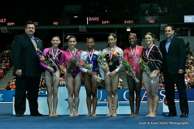 US Women's Gymnastic Team, 2016 Secret US Classic, Author Scott and Emer Hults Photography, Source OTRS submission (CC BY-SA 3.0 Unported)
