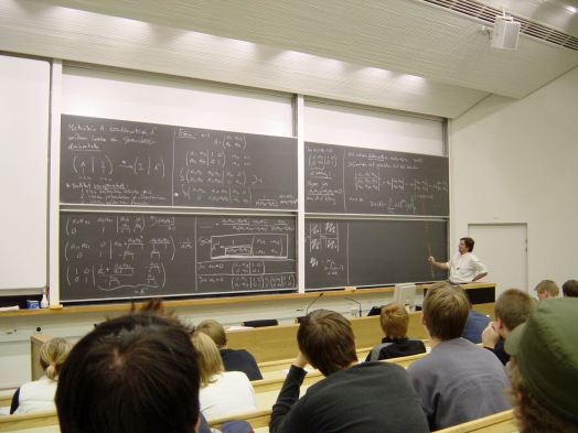 Image result for small math class university
