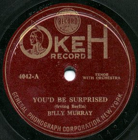 Replica Of Original Used Early H M V Label Company Record Sleeve Driving A Roaring Trade Music