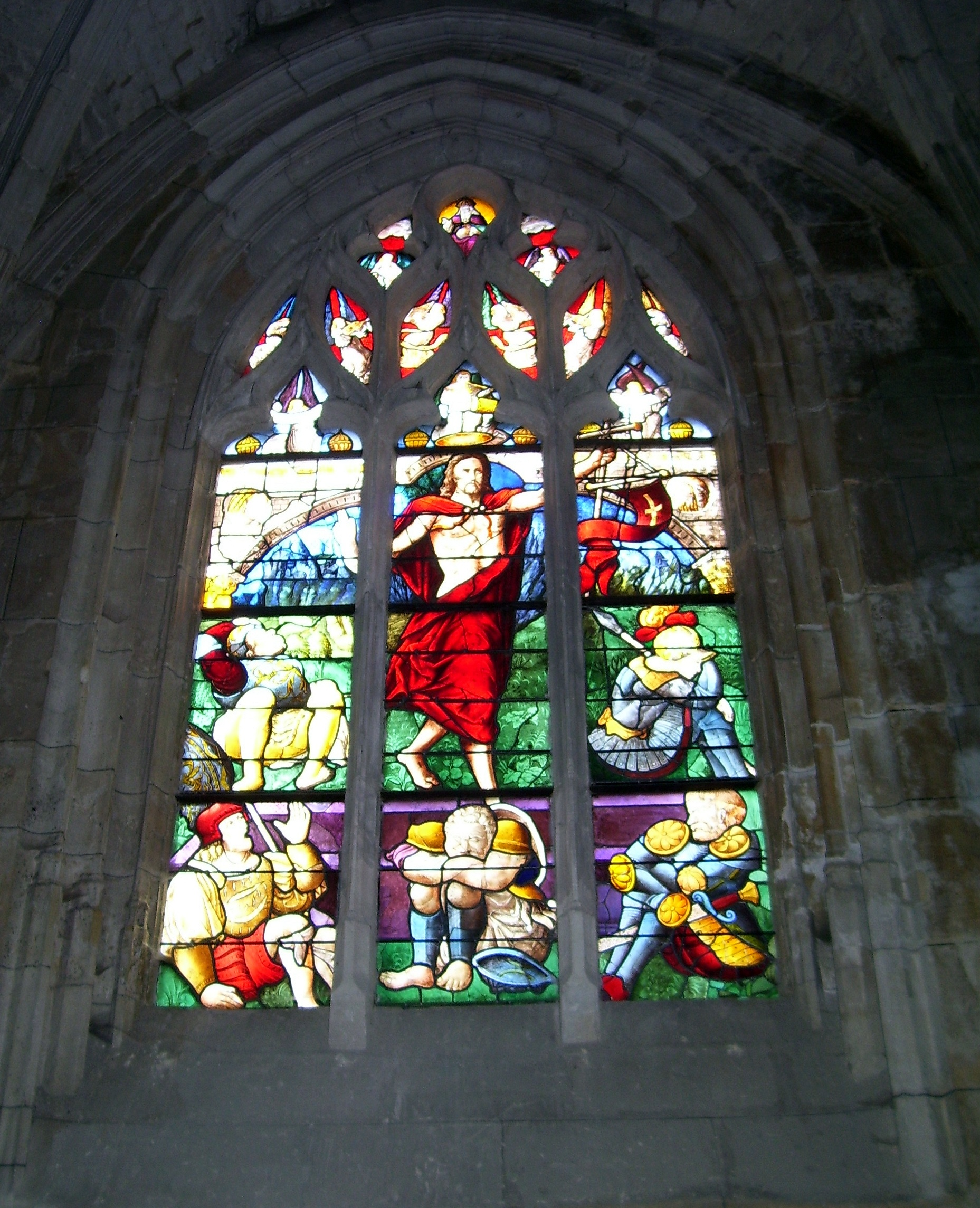stained-glass church windows, kirchenfenster, vitrail