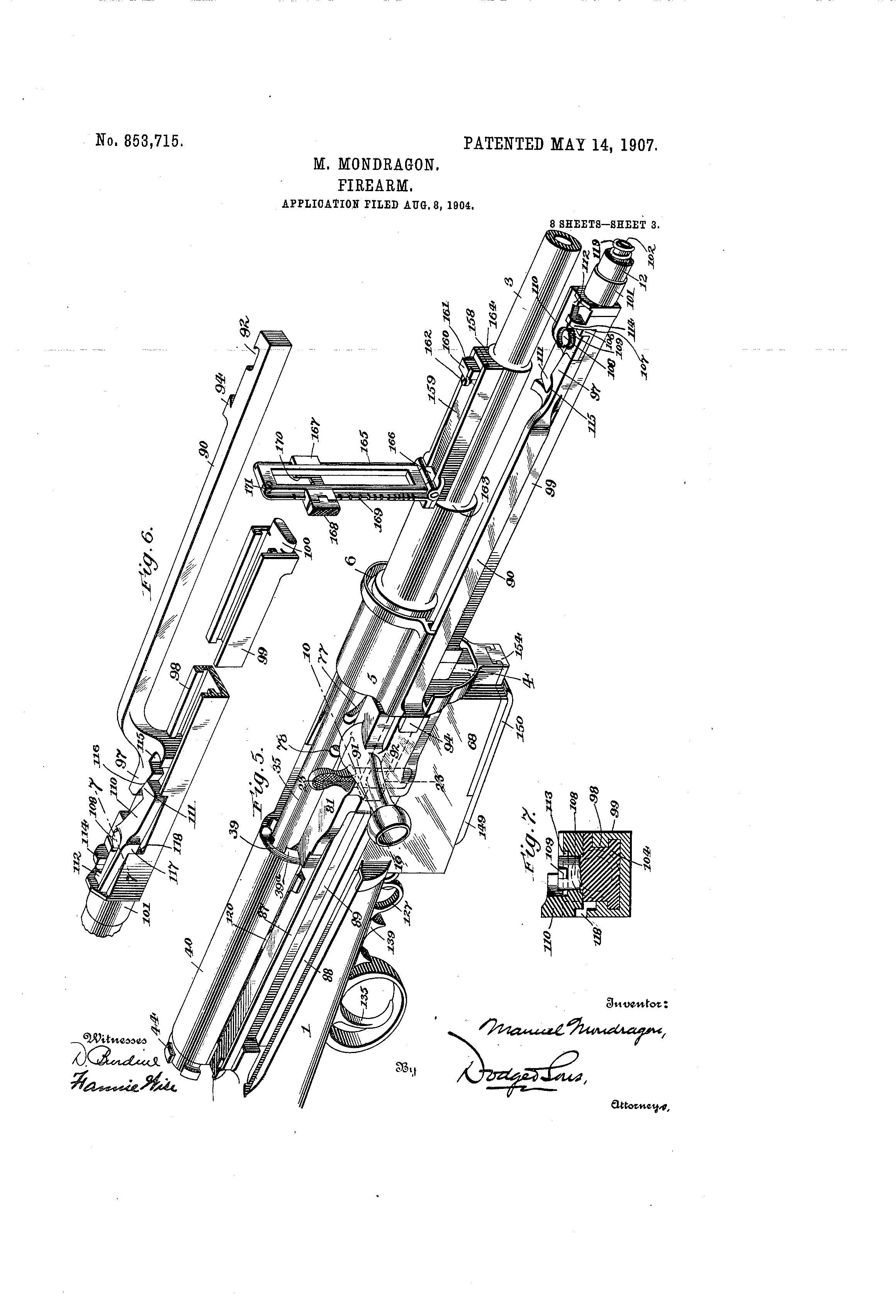 File 003 Mondragon Patent Rifle