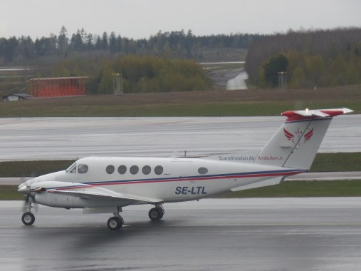 Bildresultat för king air 200 scandinavian air ambulance