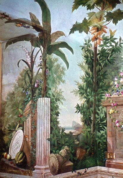 Historisches Farbdiaarchiv Zur Wand Und Deckenmalerei