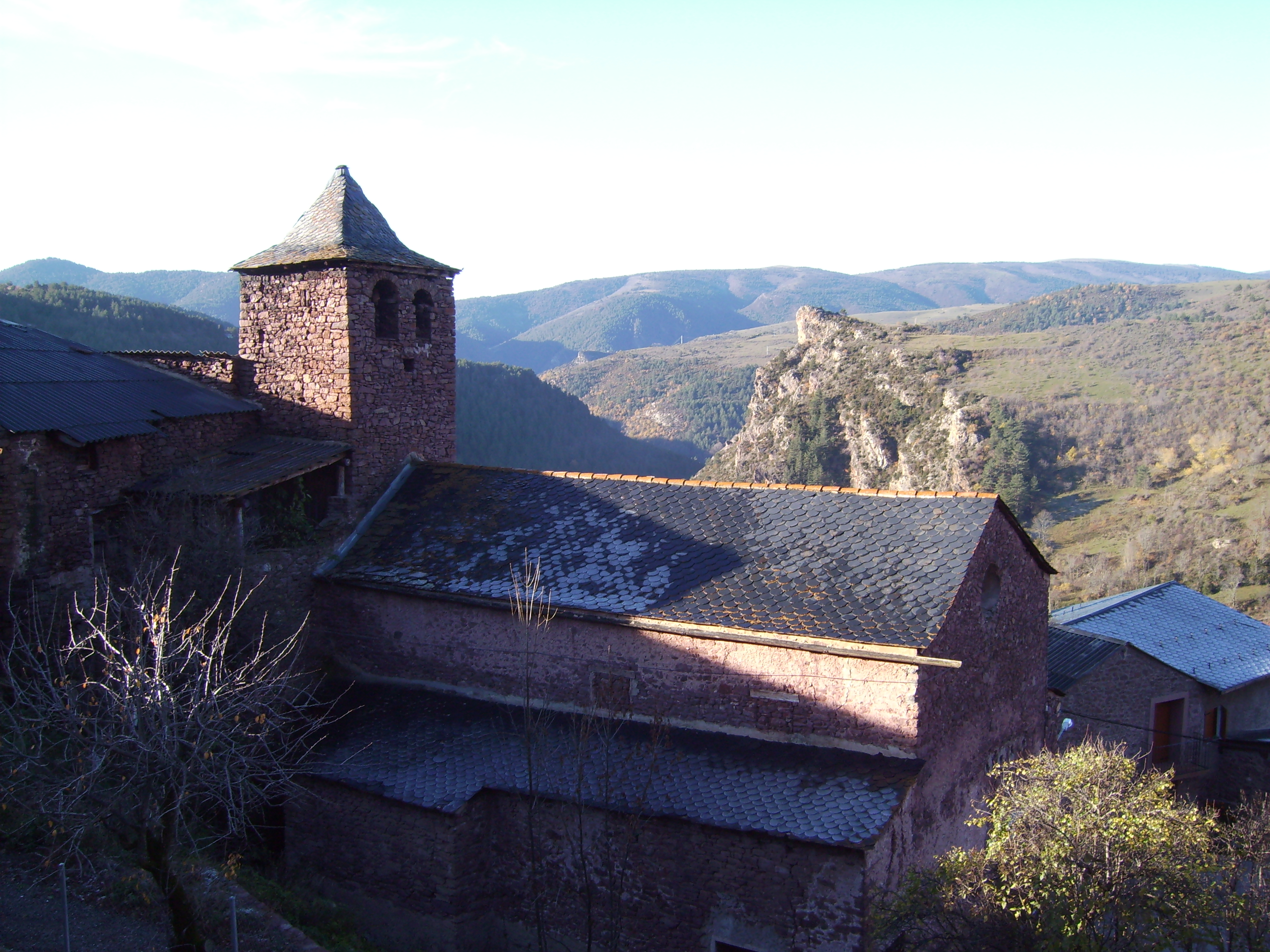 The church of Guils de Cantó, Alt Urgell, Catalonia