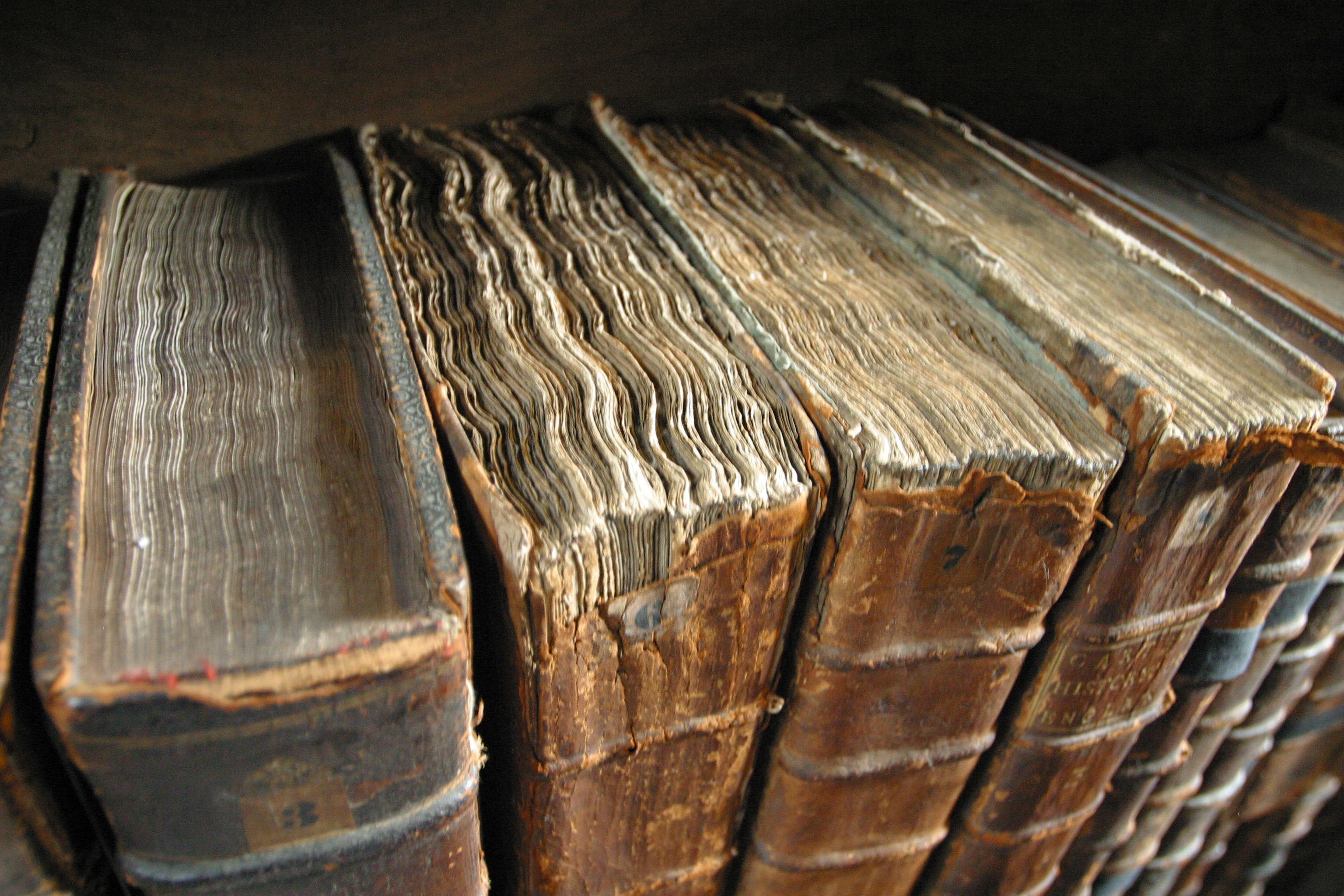 Traditionella kunskapssamlingar. Föga föränderliga. Foto: Tom Murphy VII, CC-BY-SA 3.0