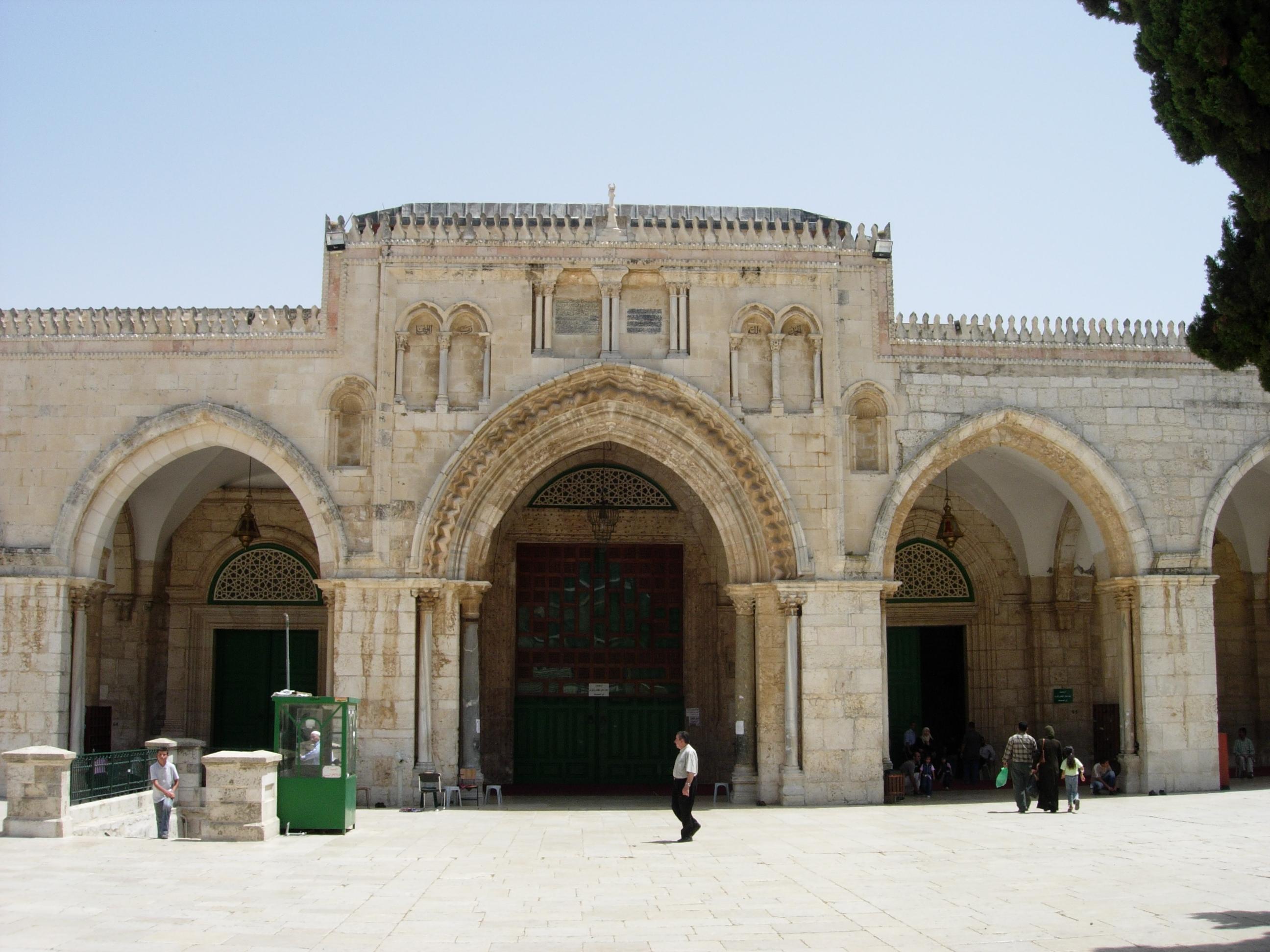 Al-Aqsa Mosque, Jerusalem, Israel.