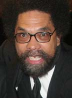 Cornel West. Image taken at the annual meeting...