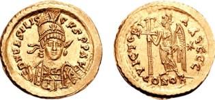 Solido di Basilisco, che governò per soli 20 mesi fra 475 e 476.