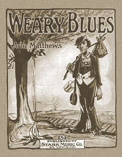 "Cover of ""Weary Blues"""