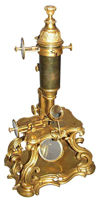 Early Microscope 1751