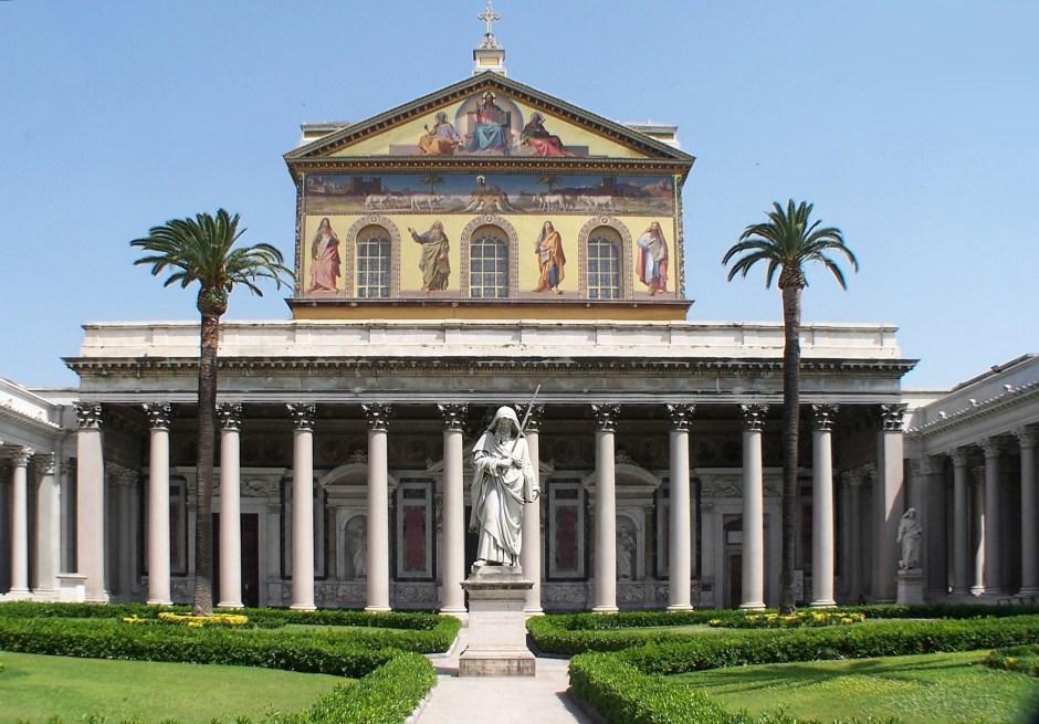 Basílica de São Paulo Extra-muros, Roma.