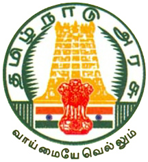 Emblem of the State Government of Tamil Nadu u...
