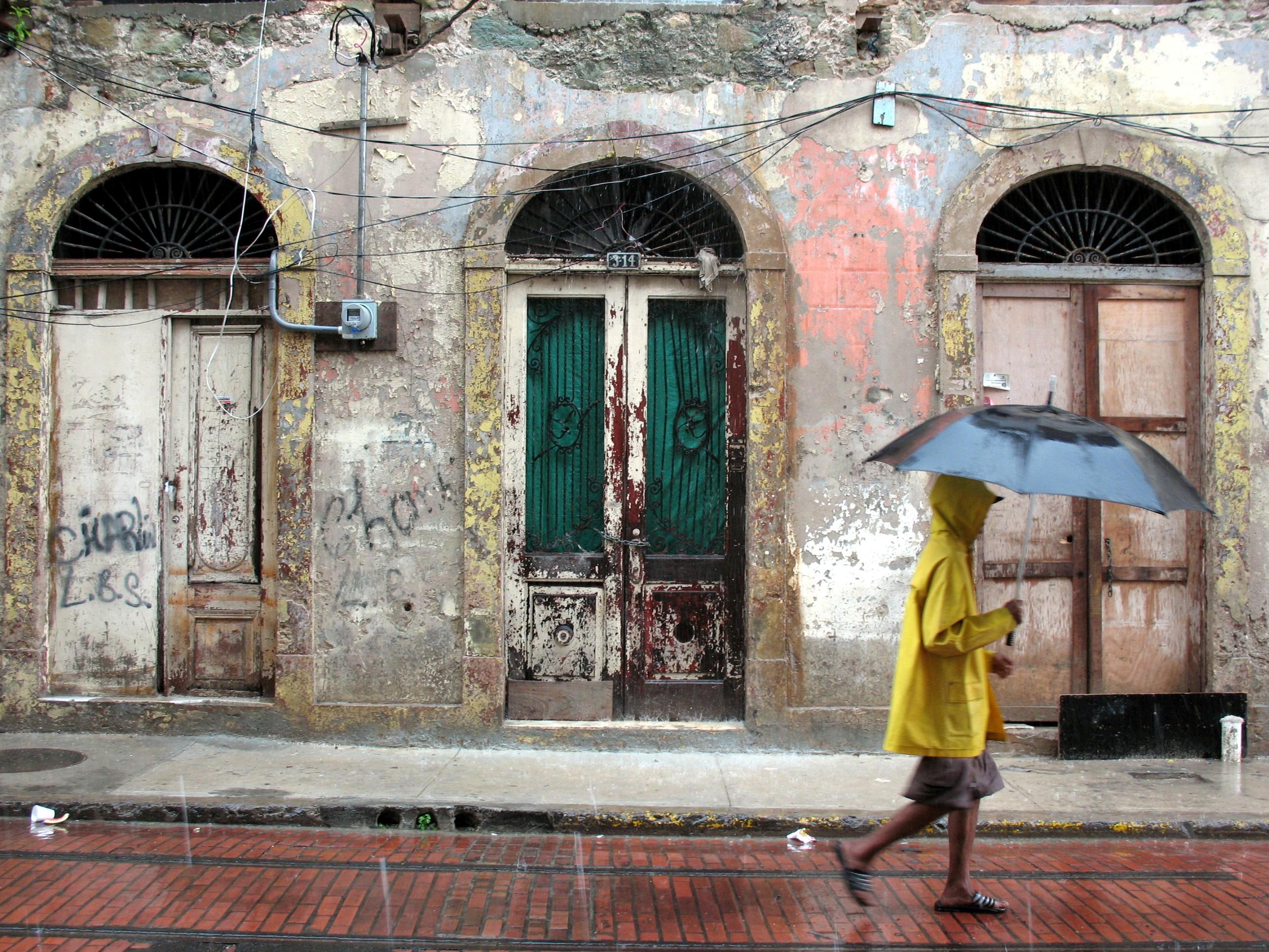 Calle del Casco Antiguo de la ciudad de Panamá
