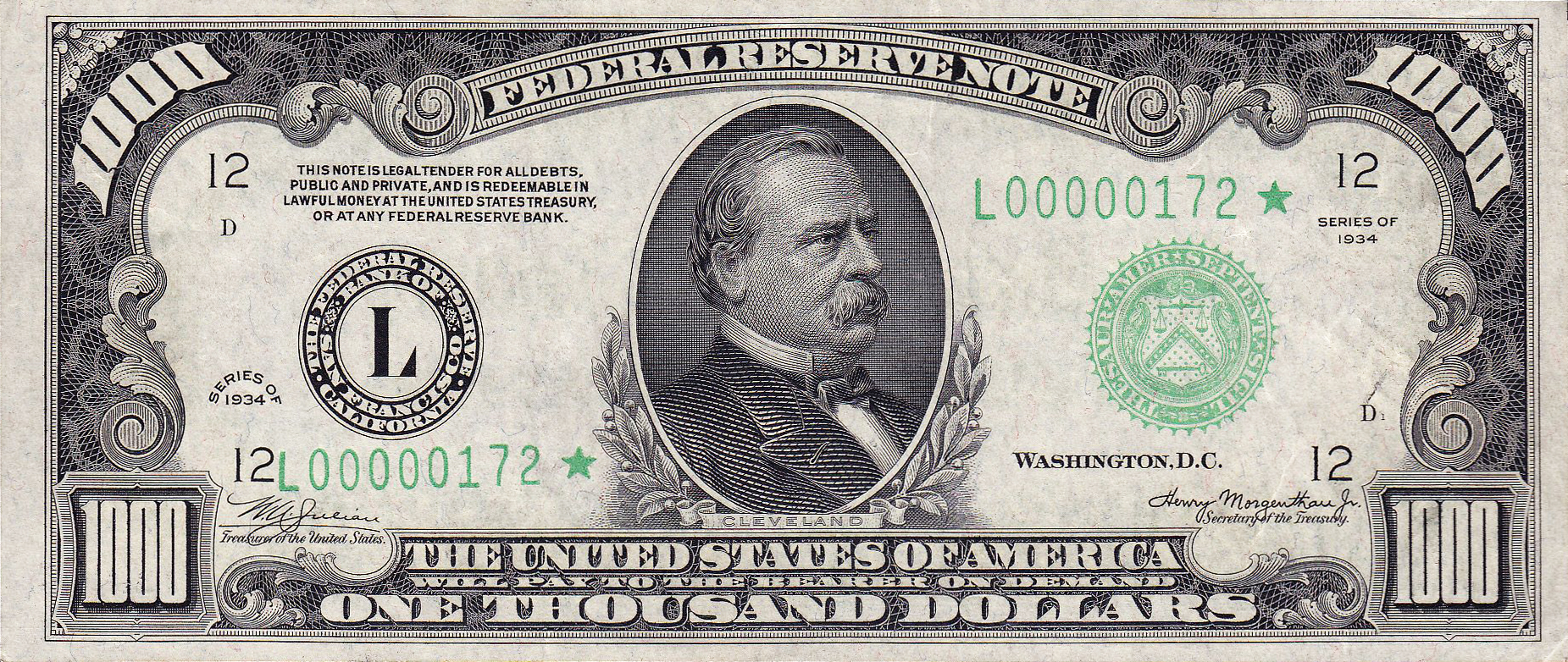 File Usd Note Series Of Obverse