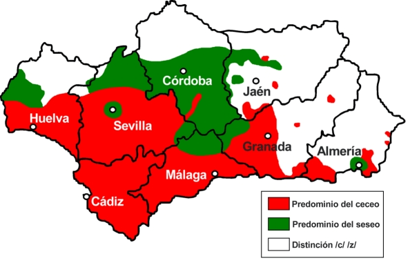 Spain Region Andalusian