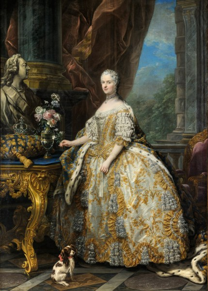 Louis XV of France   Wikipedia The Queen  children  and the first mistresses edit