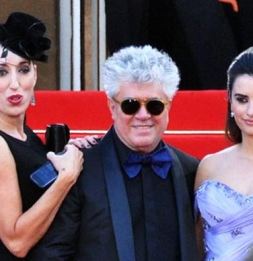 Rossy de Palma - Pedro Almodovar and Penélope Cruz - Cannes 2009