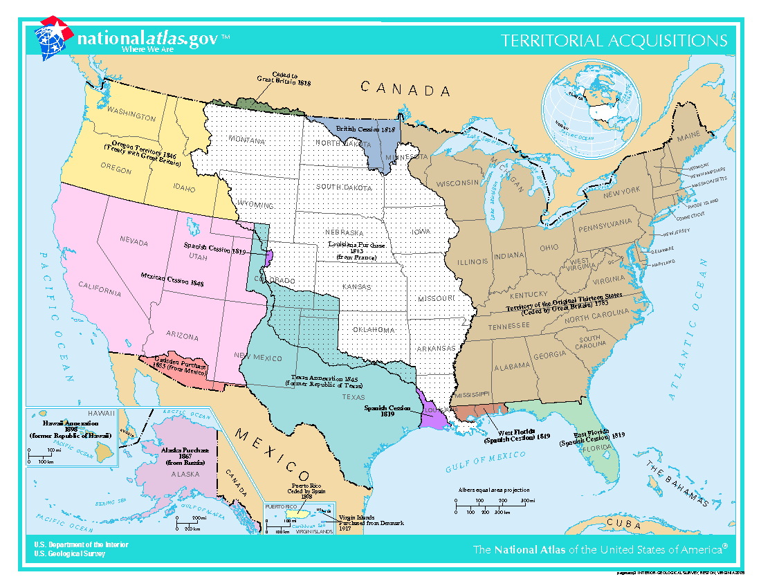 Opinions On Territorial Evolution Of The United States